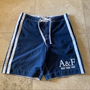 Abercrombie and Fitch Mens Swim Board Shorts